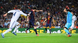 Messi needs only a little time and space to score