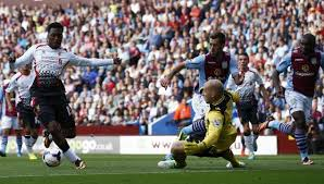 Daniel Sturridge scores a great goal against Aston Villa