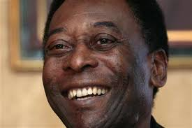 Pele -  always a professional