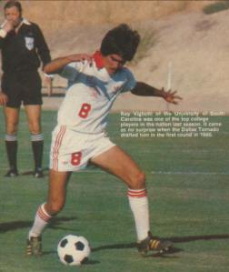 """Ray Vigliotti - one of the """"little kids"""" who developed his skills playing in the local streets."""