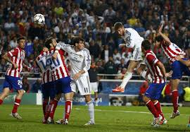 Sergio Ramos scores for Real Madrid late late  in the Champions League final